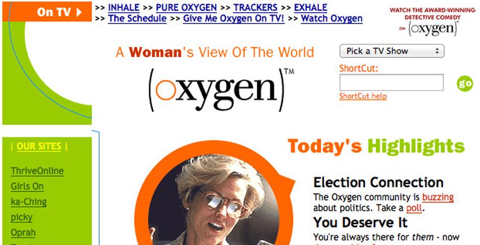 Nominee - Oxygen Media
