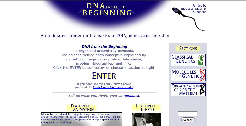 Nominee - DNA from the Beginning