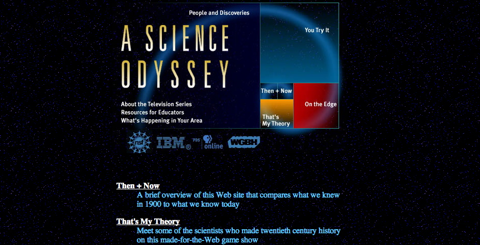 Nominee - A Science Odyssey