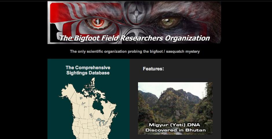 Nominee - Bigfoot Field Researchers Organization