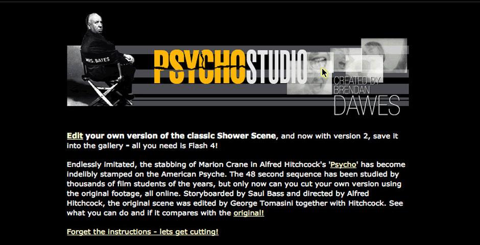 Webby Award Nominee - Psycho Studio