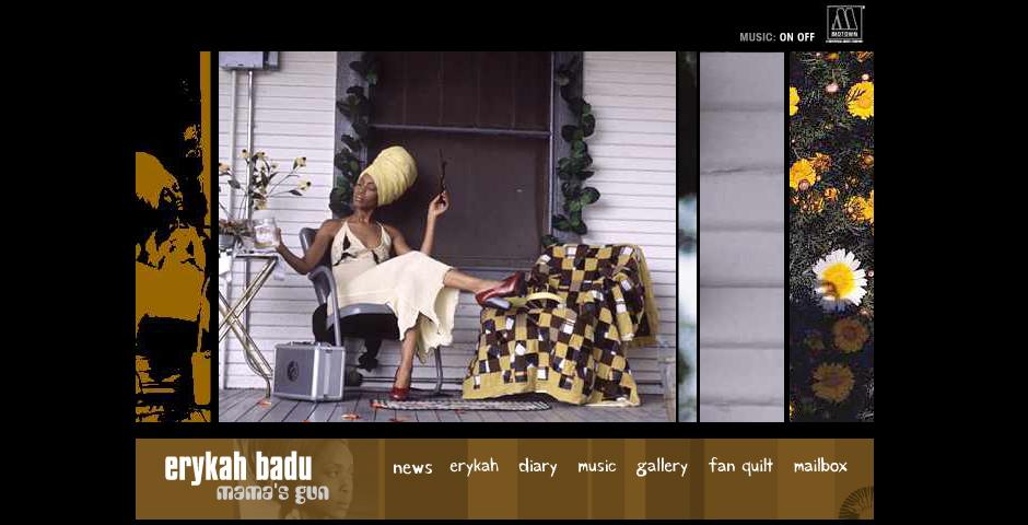 Nominee - Erykah Badu