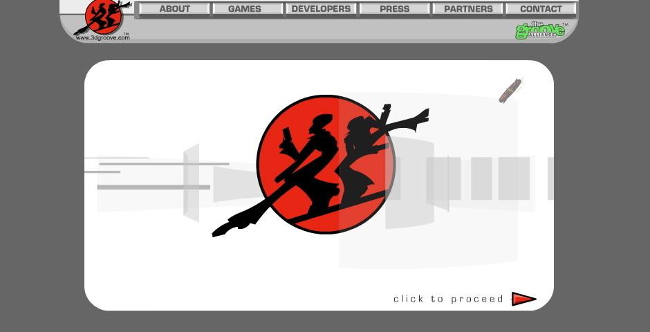 2001 Webby Winner - 3D Groove