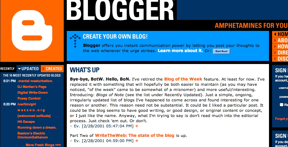 Nominee - Blogger