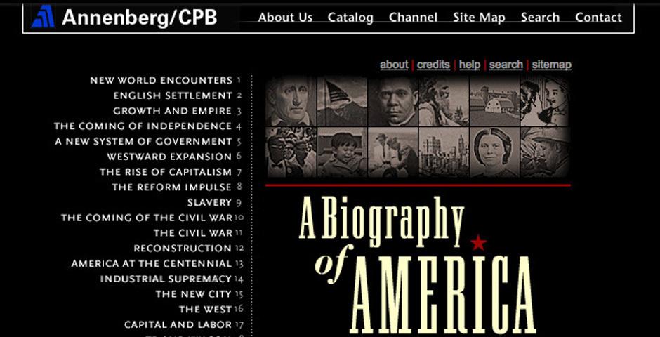 Webby Award Nominee - A Biography of America