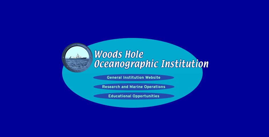 Webby Award Nominee - Woods Hole Oceanographic Institution