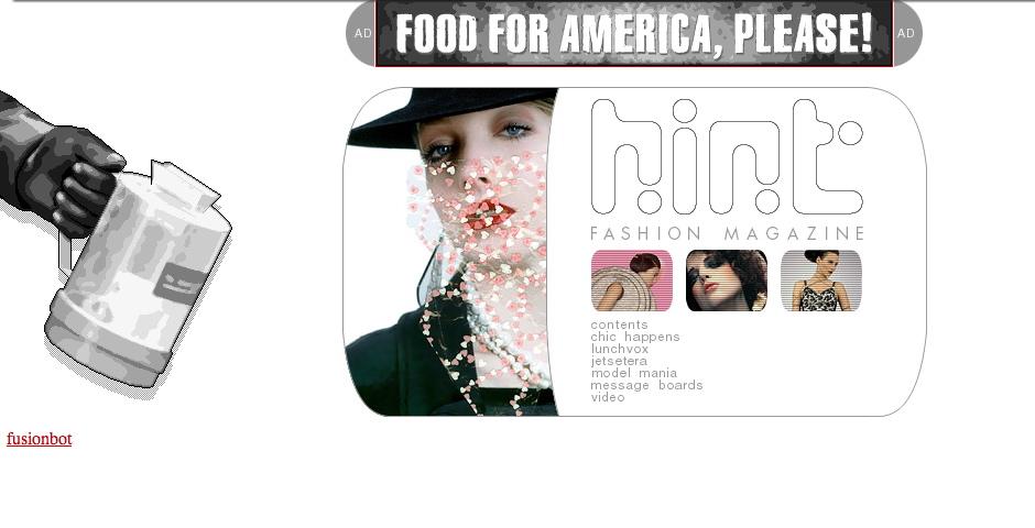 Webby Award Winner - Hint Fashion Magazine