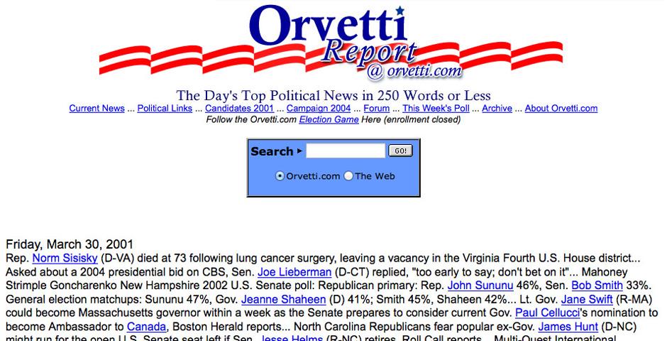 Nominee - Orvetti.com