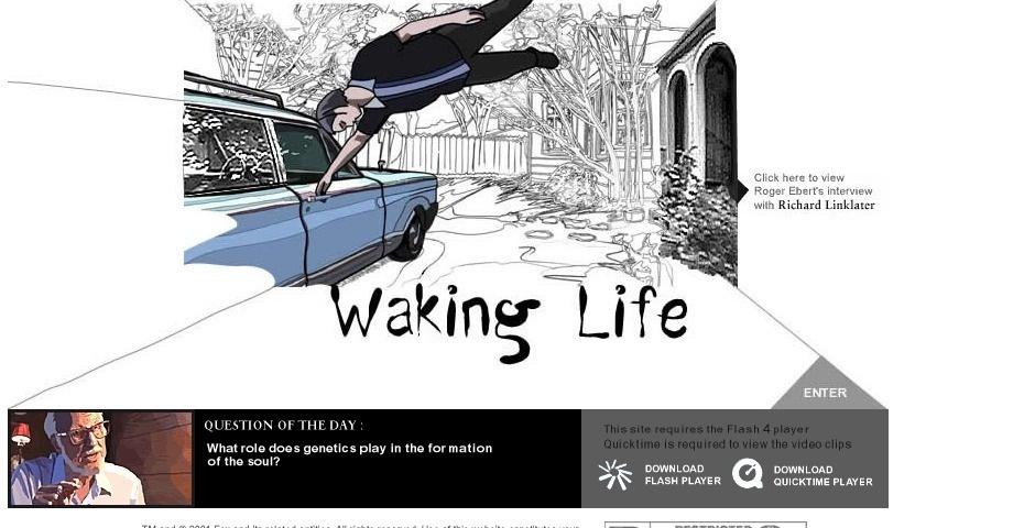 Webby Award Nominee - Waking Life