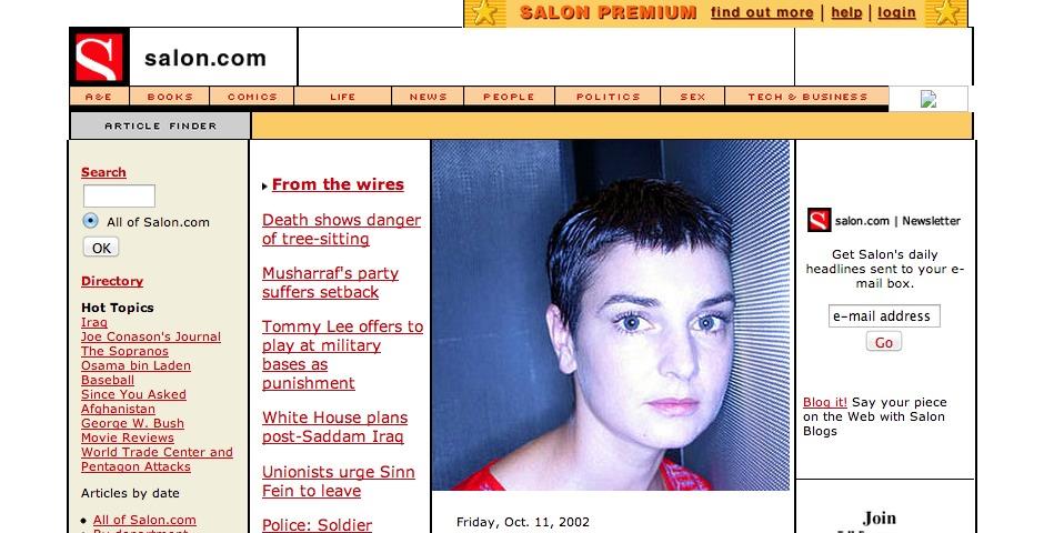 Webby Award Winner - Salon.com