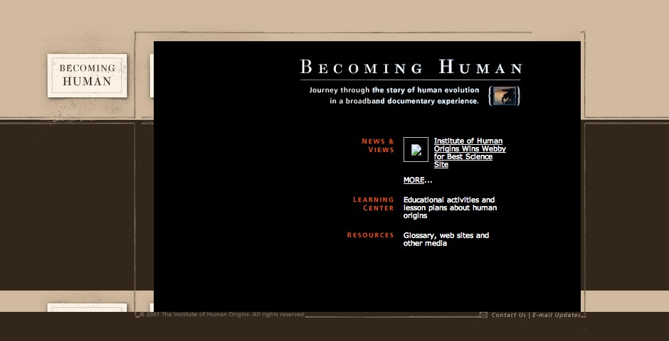 Webby Award Winner - Becoming Human