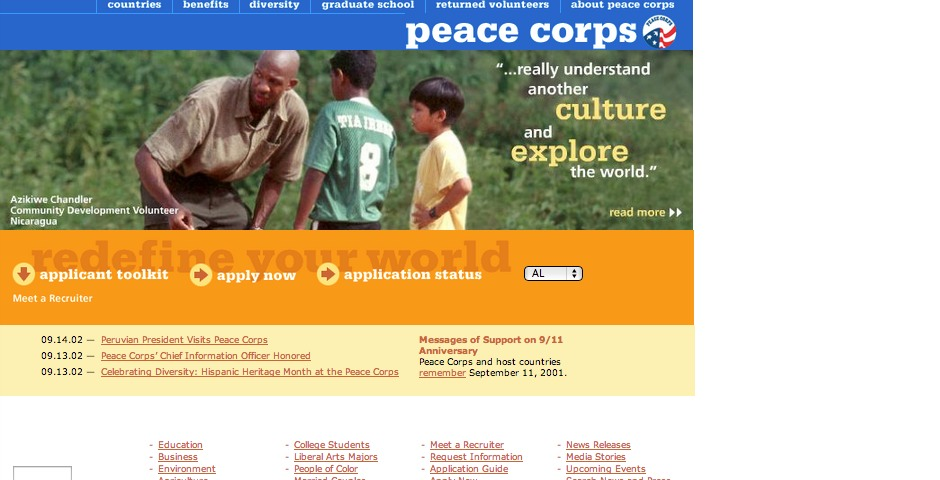 Nominee - Peace Corps