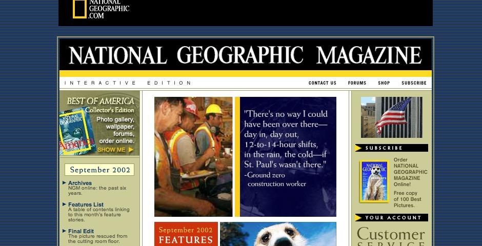 Nominee - National Geographic Magazine