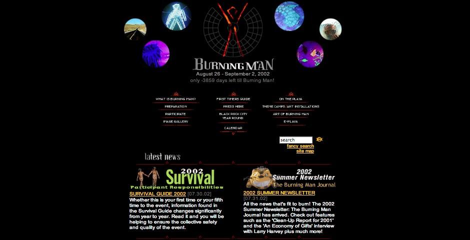 Nominee - Burning Man