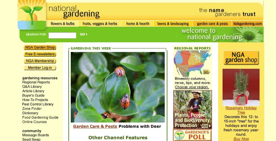 Nominee - National Gardening