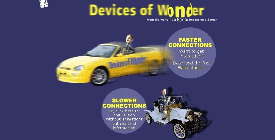 2002 Webby Winner - Devices of Wonder