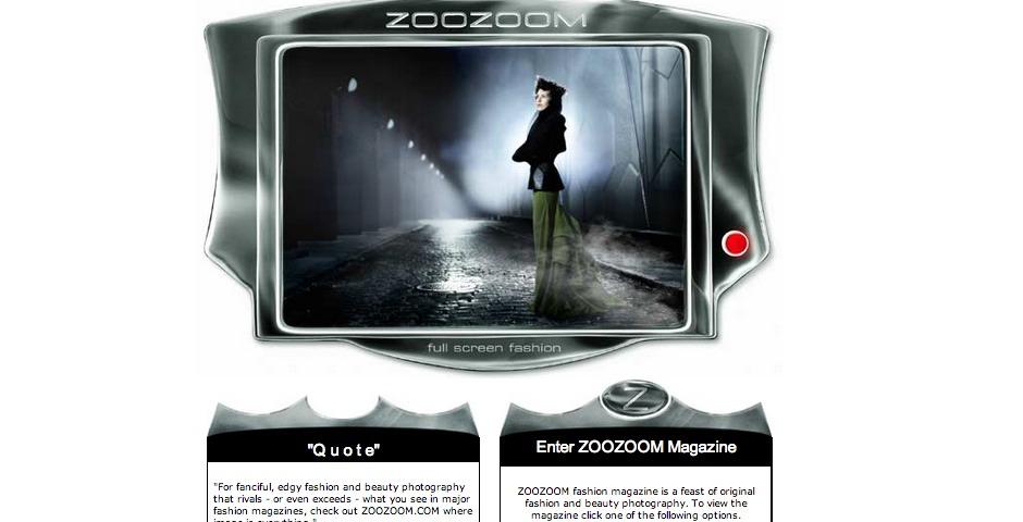 Webby Award Winner - ZOOZOOM.com Magazine