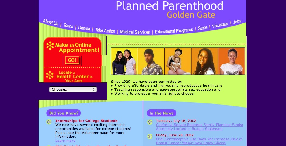 Nominee - Planned Parenthood Golden Gate