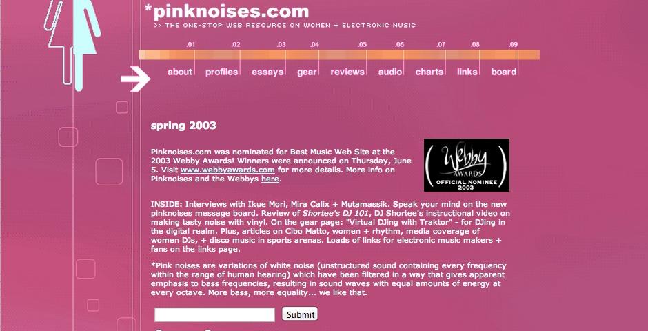 Nominee - pinknoises.com