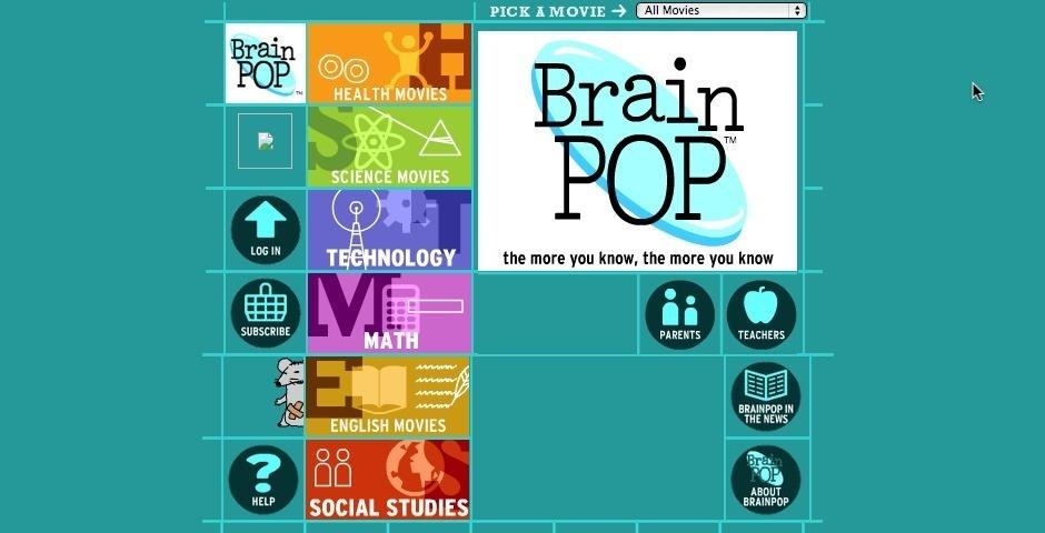 Webby Award Nominee - BrainPOP