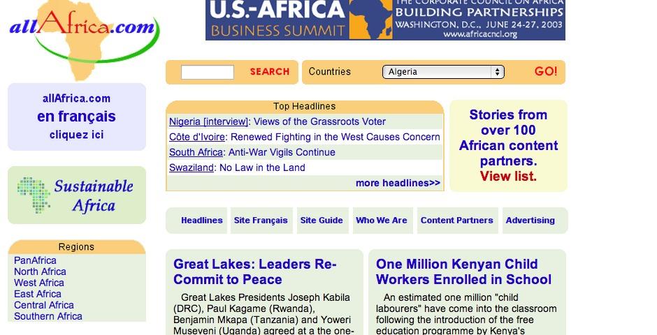 Nominee - allAfrica.com