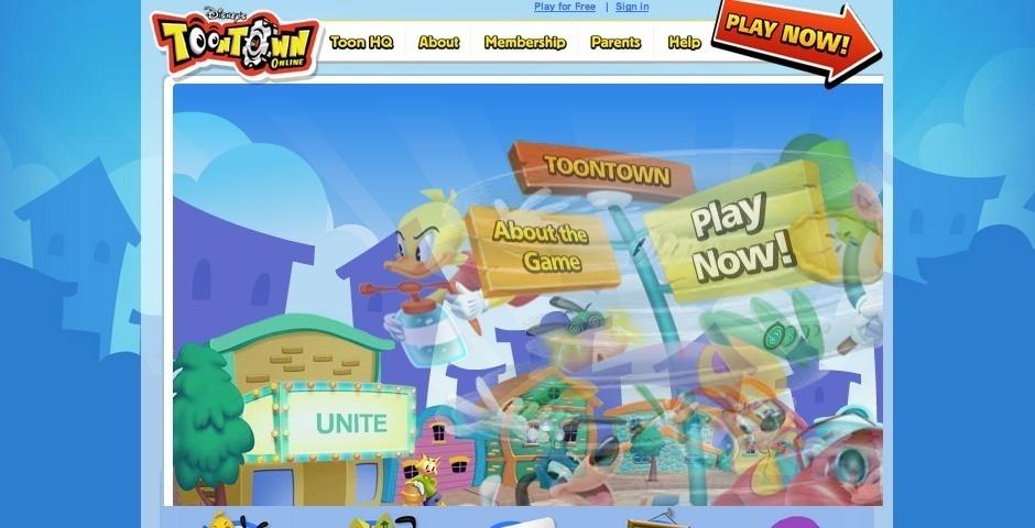 Webby Award Nominee - Disney\'s Toontown Online