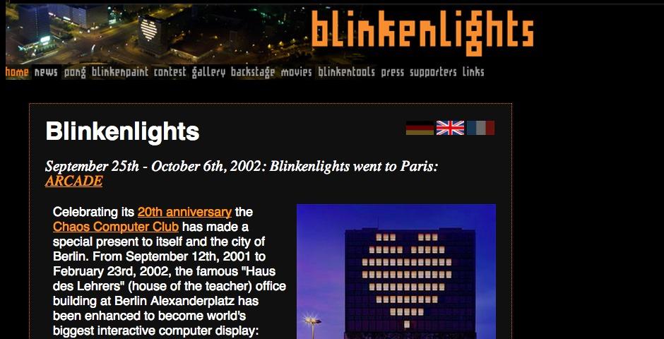 Nominee - BlinkenLights