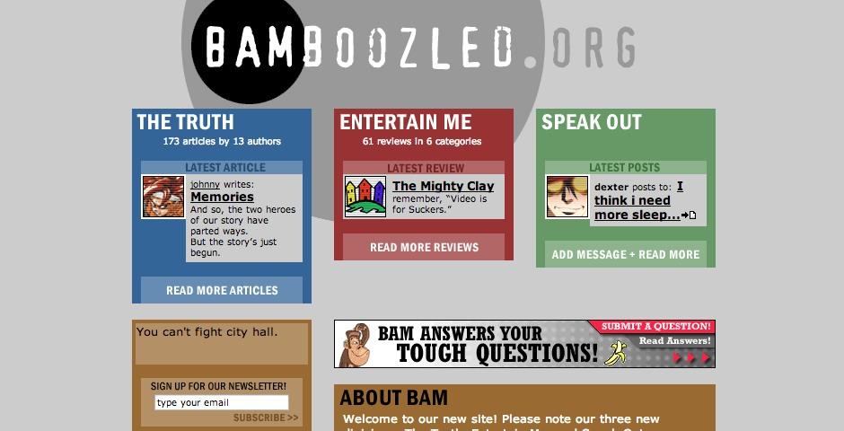 Nominee - BAMboozled.org