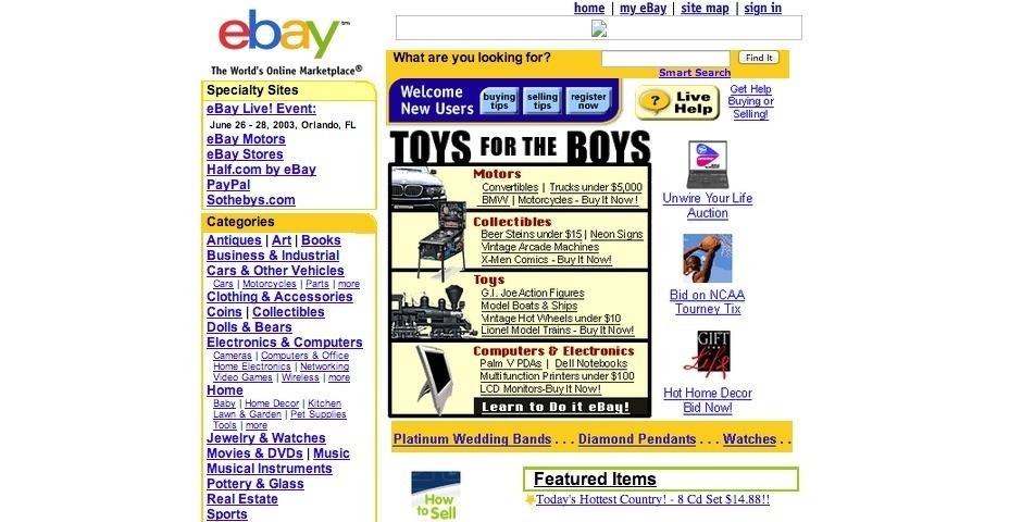 2003 Webby Winner - eBay