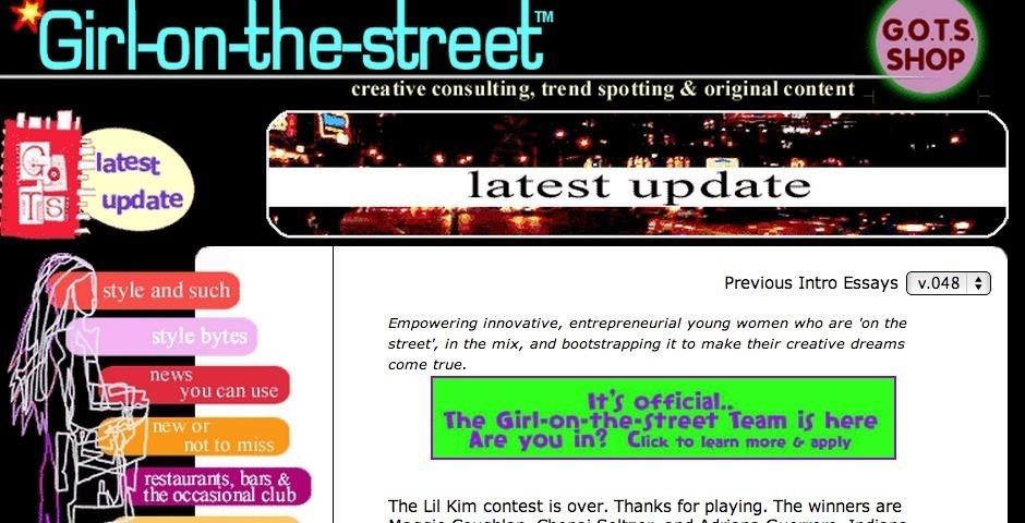 Webby Award Nominee - Girl-on-the-street