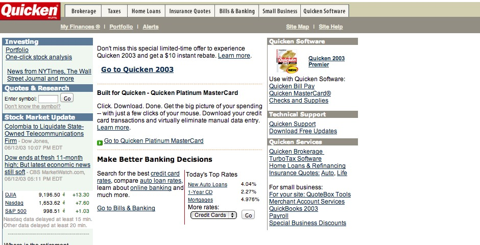 Nominee - Quicken.com