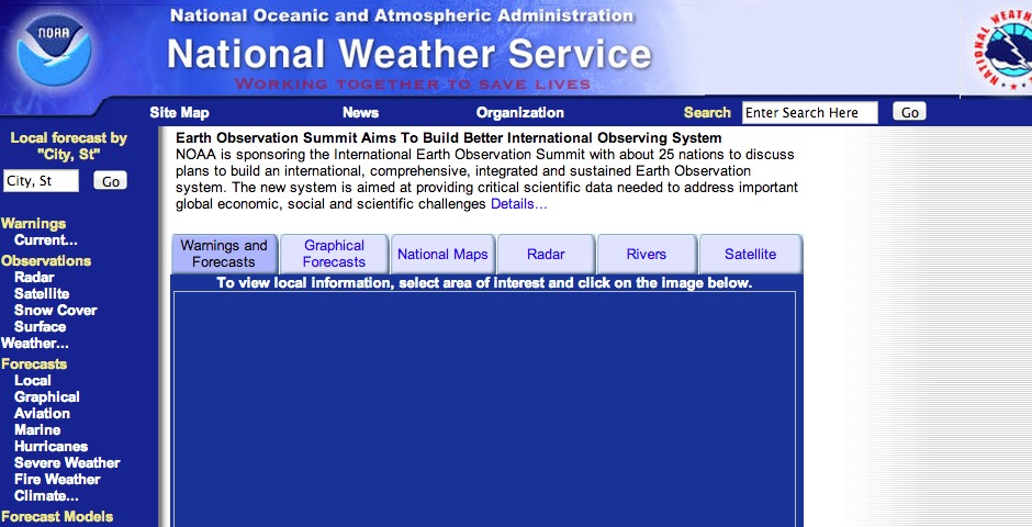 National Weather Service -- The Webby Awards