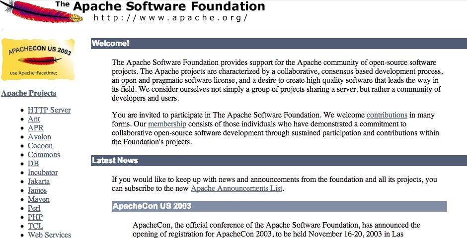 Webby Award Winner - Apache Web Server
