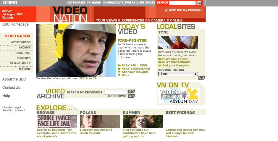 Nominee - BBC Video Nation