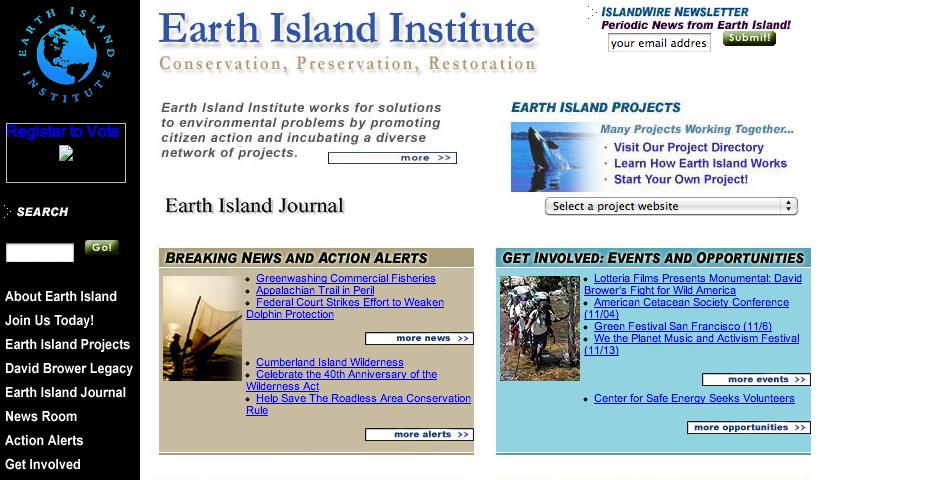 Nominee - Earth Island Institute