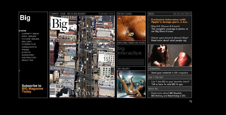 Nominee - Big Magazine