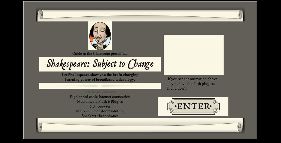 Nominee - Shakespeare: Subject to Change