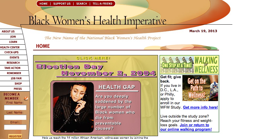 Nominee - Black Women's Health Imperative