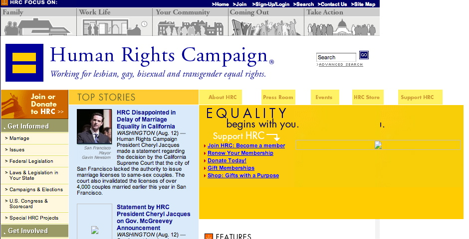 People's Voice - Human Rights Campaign