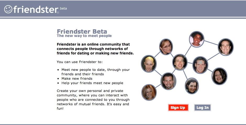 Webby Award Nominee - Friendster