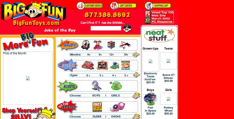 Nominee - Big Fun Toys