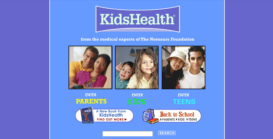 Webby Award Winner - KidsHealth
