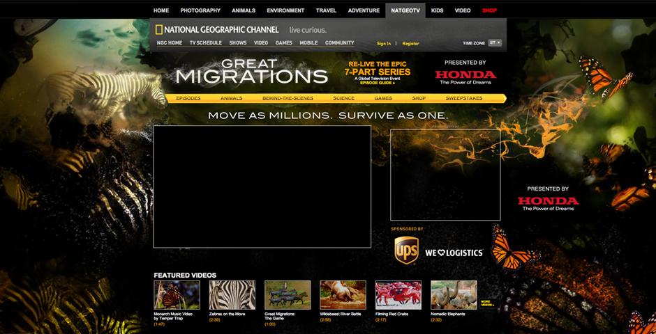 Nominee - Great Migrations