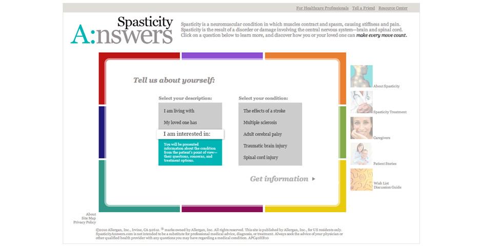 Webby Award Nominee - Spasticity Answers