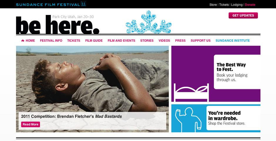 Webby Award Nominee - Sundance Institute