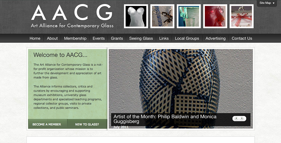 Nominee - Art Alliance for Contemporary Glass