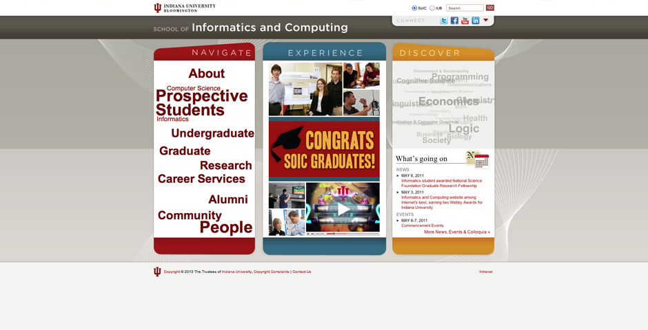 - School of Informatics and Computing