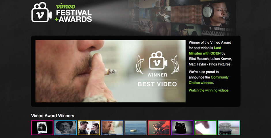 Nominee - Vimeo Festival + Awards