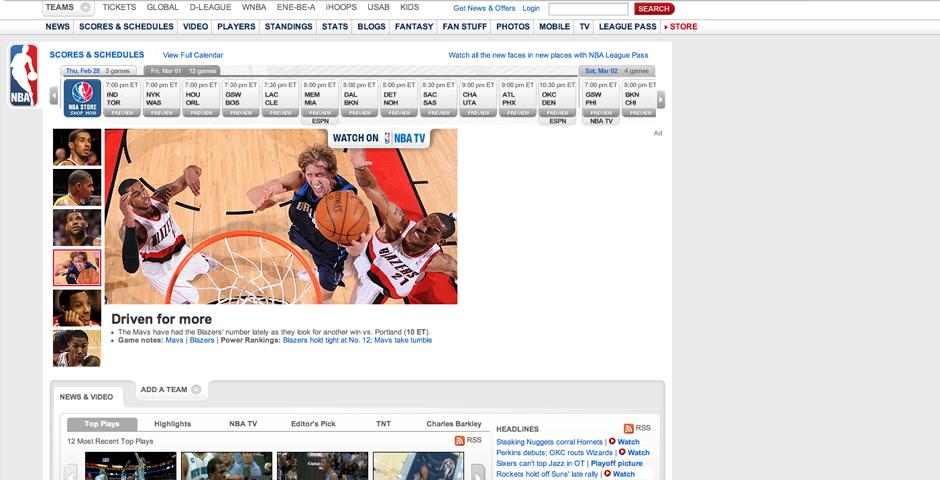 Nominee - NBA