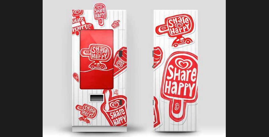 "Nominee - Unilever ""Share Happy"" Smile Activated Vending Machine"